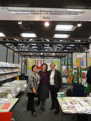 Bologna, stand AIB alla Fiera del Libro per Ragazzi 2012.