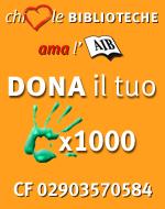 Dona  il 5x1000 all'AIB! CF 02903570584