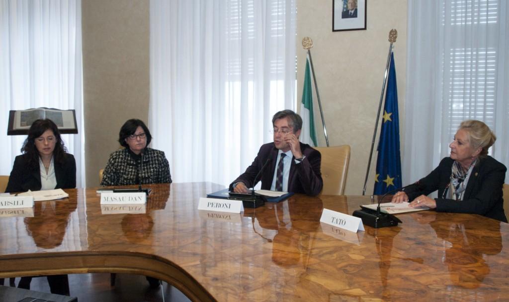 Protocollo d'intesa MAB-Università degli studi di Trieste - 17 ottobre 2012