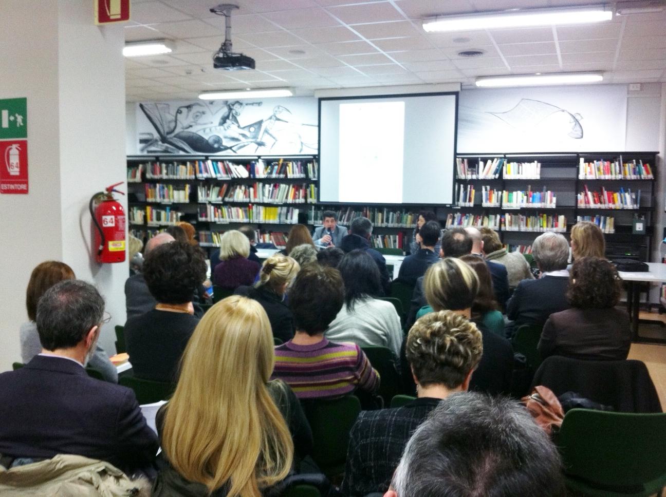 Incontro pubblico sulle biblioteche regionali. Udine, 23 marzo 2013