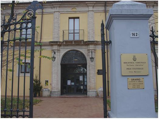 La biblioteca comunale di Lanciano