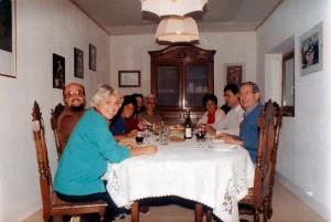 Nel 1985, a casa di Michel Boisset, in Francia