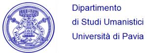 Logo Dip. Studi Umanistici, Università di Pavia