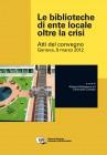 Le biblioteche di ente locale oltre la crisi (ebook)