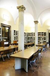 Biblioteca di Area Architettura di Napoli (credits: Cinzia Martone)