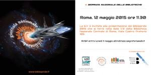 Conferenza stampa romana Bibliopride 2015 - Invito