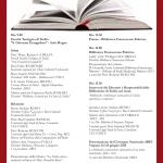 Programma Convegno biblioteche ecclesiastiche