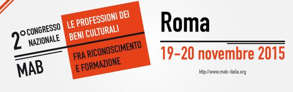 2. Congresso nazionale MAB. Roma 19-20 novembre 2015