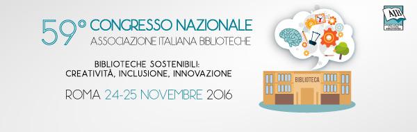 Biblioteche sostenibili: creatività, inclusione, innovazione