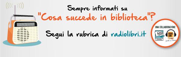 Promuoviamo gli eventi delle biblioteche italiane