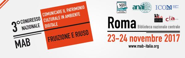 Convegno nazionale MAB, Roma 23-24 novembre