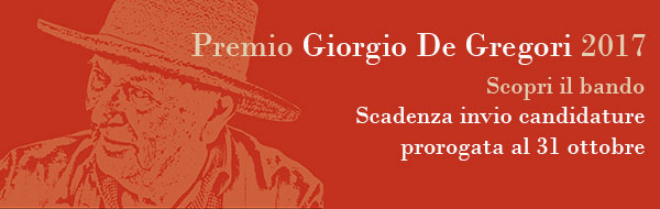 Premio Giorgio De Gregori 2017