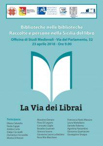 Locandina Giornata di studi Biblioteche nelle biblioteche