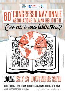 Locandina 60. Congresso nazionale AIB