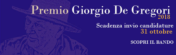 Premio Giorgio De Gregori 2018