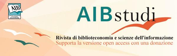 AIB Studi: supporta la versione open access con una donazione