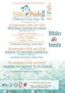 BIbliopride 2019: Biblio bimbi SBA UniPa, AIB, Npl