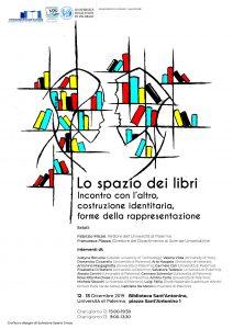 """Programma del Convegno """"Lo spazio dei libri"""" Palermo, 12-13 dicembre 2019"""