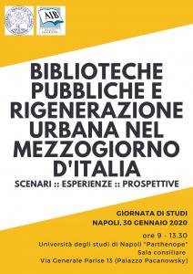 biblioteche pubbliche e rigenerazione urbana nel mezzogiorno d'italia