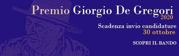 Premio Giorgio De Gregori 2020