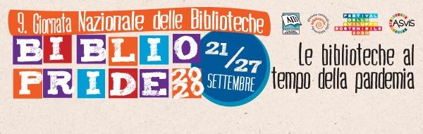Bibliopride 2020 - 21-27 settembre