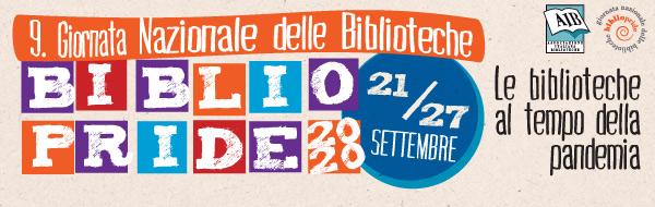 Nona giornata nazionale delle biblioteche Bibliopride 2020