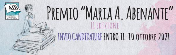Premio Maria A. Abenante 2021